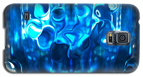 Icy Blue Cool Galaxy S5 Case