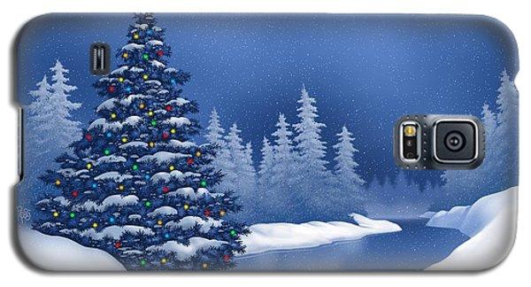 Icy Blue Galaxy S5 Case
