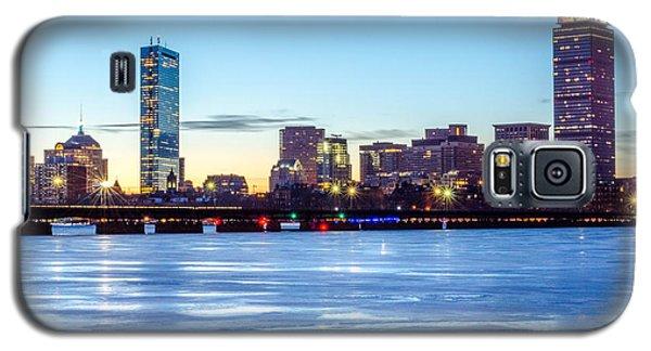 Icy Boston At Dawn Galaxy S5 Case