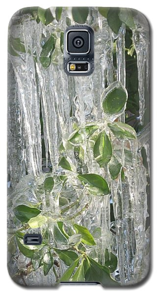 Icy Green Galaxy S5 Case