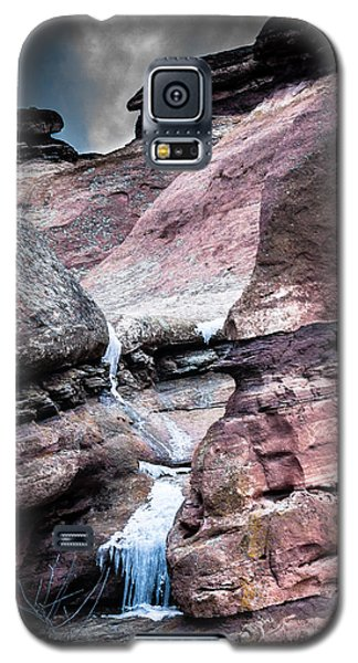Icy Red Rocks  Galaxy S5 Case