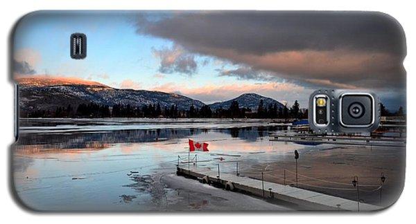 Icy Sunrise 001 Galaxy S5 Case