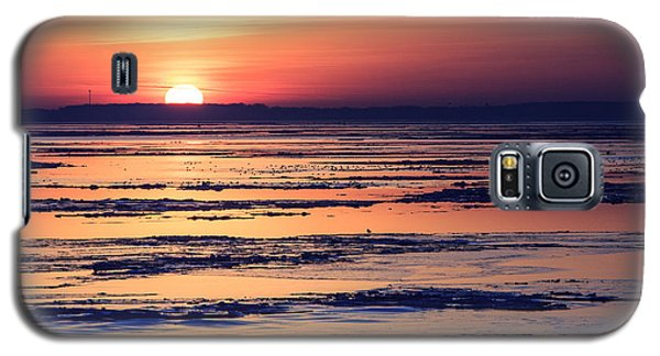 Galaxy S5 Case featuring the photograph Icy Sunrise by Jennifer Casey