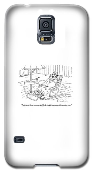 Ben Affleck Galaxy S5 Case - I'd Have No Problem Eating by Danny Shanahan
