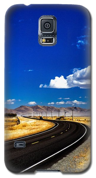 Idaho Road Titl Shift Galaxy S5 Case by For Ninety One Days