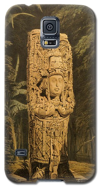 Idol At Copan By Frederick Catherwood Galaxy S5 Case