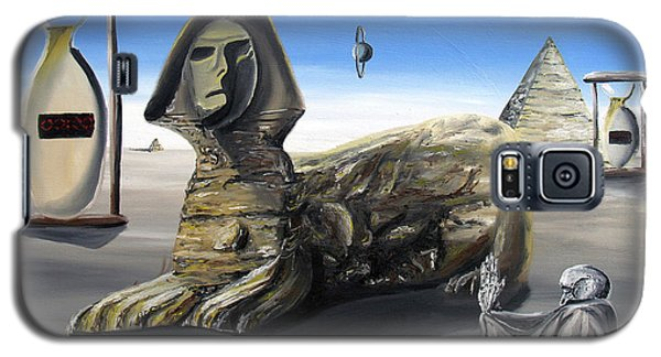 Galaxy S5 Case featuring the painting Idolatary Conformity by Ryan Demaree