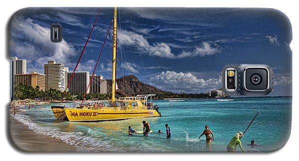 Idyllic Waikiki Beach Galaxy S5 Case