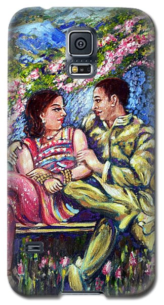 Galaxy S5 Case featuring the painting If I Will Get Your Love by Harsh Malik