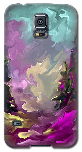 Galaxy S5 Case featuring the painting If Only I Could by Steven Lebron Langston