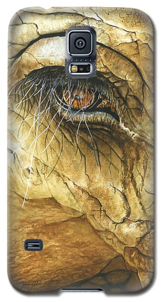 Galaxy S5 Case featuring the painting If You Could See What I've Seen... by Barbara Jewell