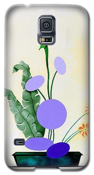 Ikebana #2 Green Pot Galaxy S5 Case by Thomas Gronowski