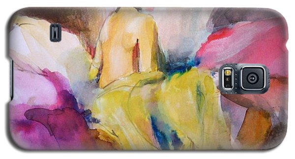 Galaxy S5 Case featuring the painting Ilda From Innsbruck by Ed  Heaton