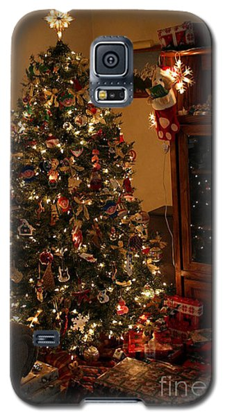 I'll Be Home For Christmas Galaxy S5 Case by Living Color Photography Lorraine Lynch