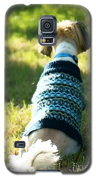 Galaxy S5 Case featuring the photograph I'll Be Waiting For You by Ellen Cotton
