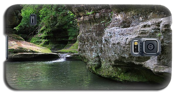 Galaxy S5 Case featuring the photograph Illinois Canyon May 2014 by Paula Guttilla