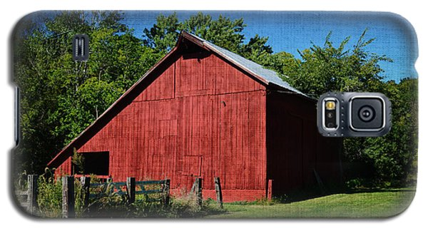 Illinois Red Barn 2 Galaxy S5 Case