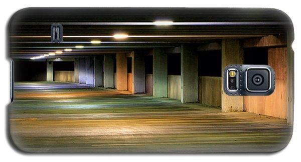 Illuminated Parking Galaxy S5 Case by Christopher McKenzie