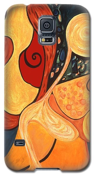 Galaxy S5 Case featuring the painting Illuminatus 4 by Stephen Lucas