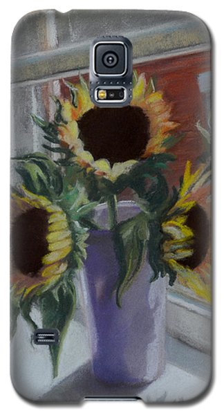 Galaxy S5 Case featuring the pastel Illumine by Pattie Wall