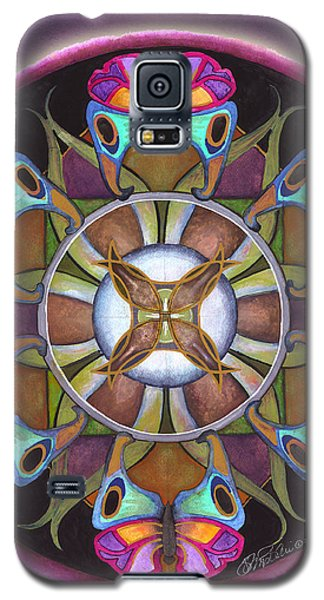 Illusion Of Self Mandala Galaxy S5 Case