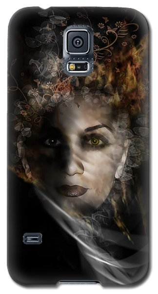 Galaxy S5 Case featuring the digital art Illusory by Katy Breen