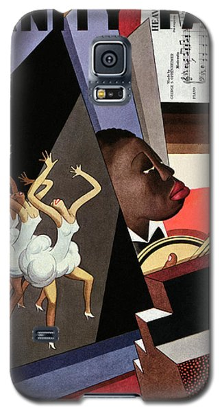 Illustration Of Harlem Entertainers Galaxy S5 Case by William Bolin