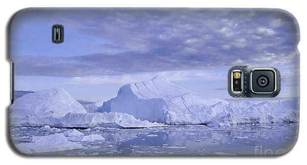 Galaxy S5 Case featuring the photograph Ilulissat Icefjord Greenland by Rudi Prott