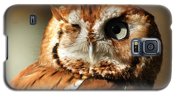 Galaxy S5 Case featuring the photograph I'm Not Winking by B Wayne Mullins