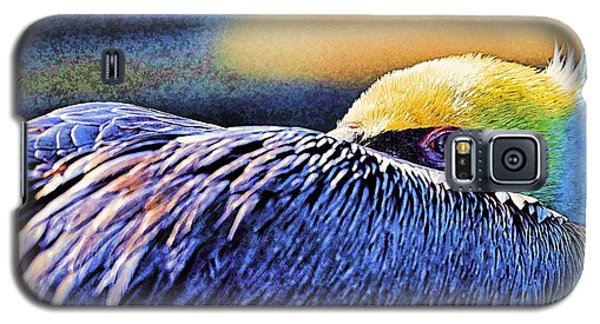 Galaxy S5 Case featuring the photograph I'm Resting Here by Pamela Blizzard