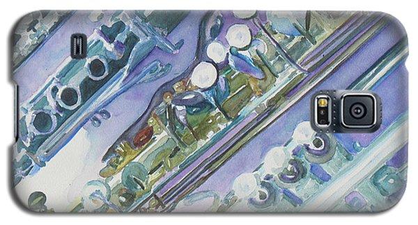I'm Still Painting On The Keys Galaxy S5 Case