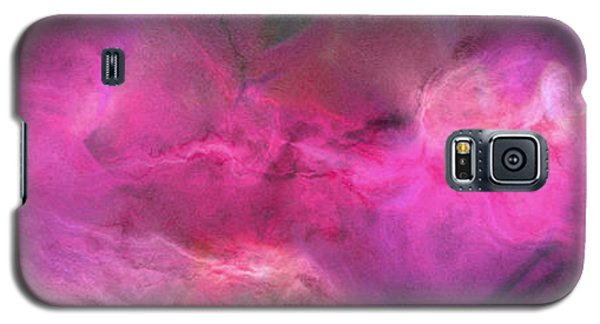 Imagination In Ruby Fire - Abstract Art Galaxy S5 Case