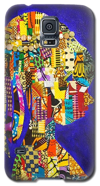 Galaxy S5 Case featuring the tapestry - textile Imani by Apanaki Temitayo M