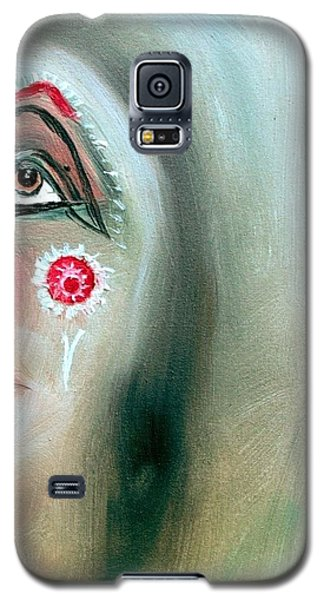 Galaxy S5 Case featuring the painting Immortal Native by Ayasha Loya