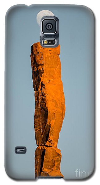 Galaxy S5 Case featuring the photograph iMoon by Jeff Kolker