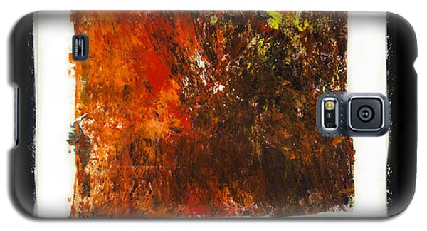 Galaxy S5 Case featuring the painting Imperfection by Ron Richard Baviello