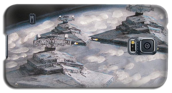 Imperial Star Ship Destroyers Galaxy S5 Case by Vikram Singh