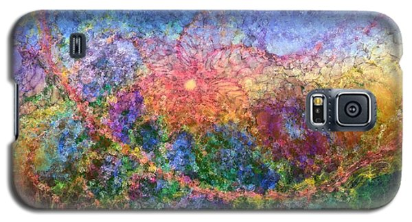 Galaxy S5 Case featuring the digital art Impressionist Dreams 1 by Casey Kotas