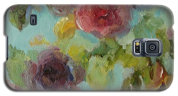 Impressionist Floral  Galaxy S5 Case