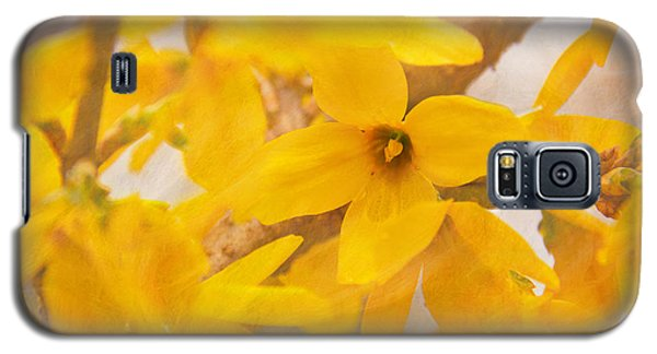 Impressionist Forsythia Galaxy S5 Case