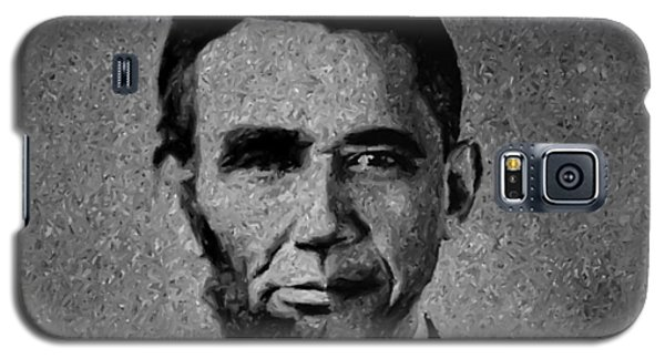 Impressionist Interpretation Of Lincoln Becoming Obama Galaxy S5 Case