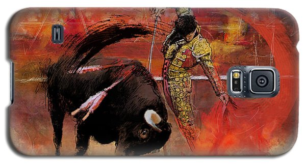 Impressionistic Bullfighting Galaxy S5 Case by Corporate Art Task Force