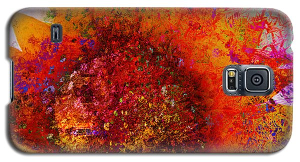 Impressionistic Colorful Flower  Galaxy S5 Case by Ann Powell