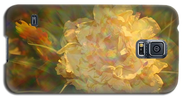 Galaxy S5 Case featuring the photograph Impressionistic Rose by Dora Sofia Caputo Photographic Art and Design