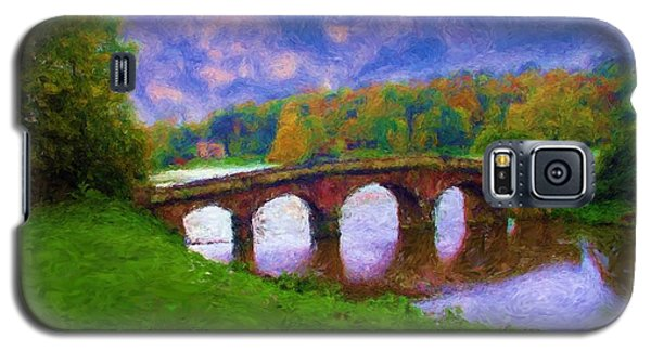 Impressions Of Stourhead Galaxy S5 Case by Ron Harpham