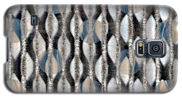 Galaxy S5 Case featuring the digital art Captive Circles by Darla Wood