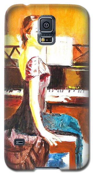 Galaxy S5 Case featuring the painting Impromptu by Judy Kay