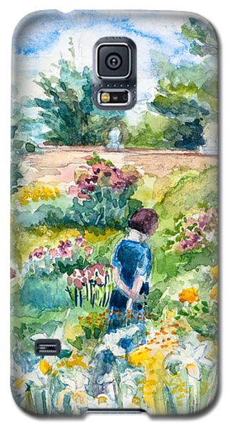 In An English Cottage Garden Galaxy S5 Case