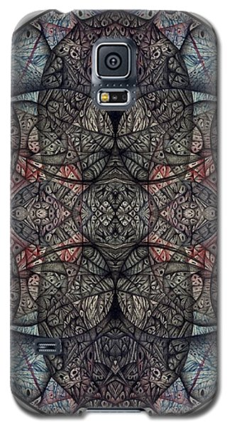 Galaxy S5 Case featuring the drawing In Anticipation Of A Continuum Two A Digitized Ballpoint by Jack Dillhunt