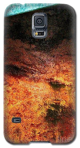Galaxy S5 Case featuring the digital art In Frame by Delona Seserman